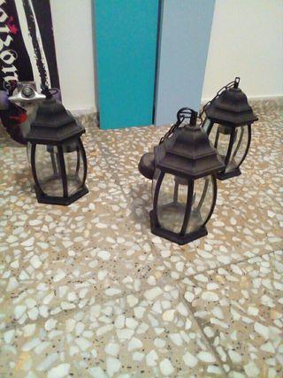 Lámpara Farol vintage