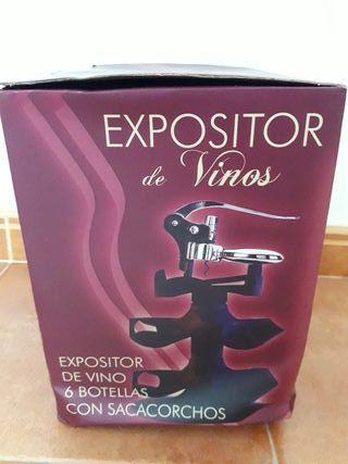 Expositor de vino
