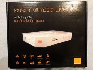 Router Orange wifi multimedia Livebox Adsl