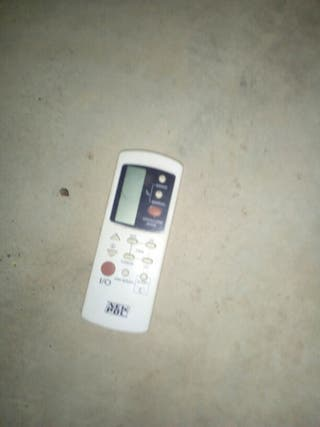 mando aire acondicionado