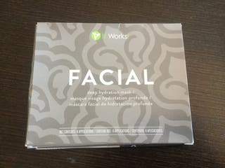 ItWorks Facial 4 parches