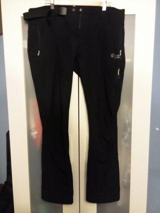 Pantalones Neak Peak monte talla XXL negros