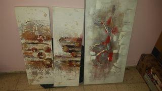 cuadros pintados a mano