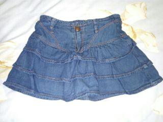falda niña talla 2-3