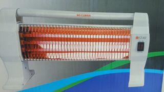 estufa 3 tubos electrica nueva