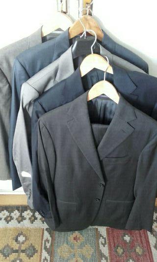 pack 7 trajes hombre