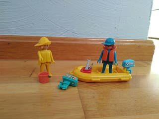 Playmobil famobil pescadores