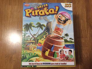 Salta pirata juego