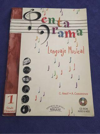 Libro lenguaje musical 1 grado