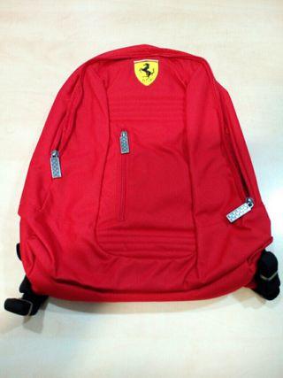 Mochila escolar Ferrari Santander roja
