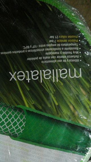 manguera de jardín reforzada
