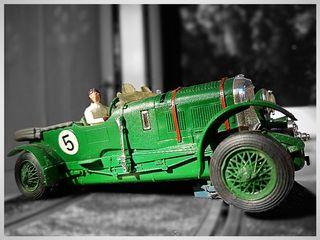 coche para scalextric bentley clasico