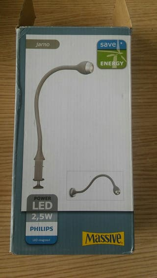 Lámpara de lectura flexo LED
