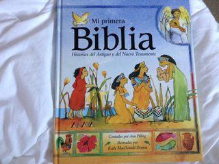 Libro Mi primera Biblia