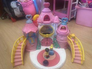 Castillo princesas Chicco y polo niña Spagnolo.