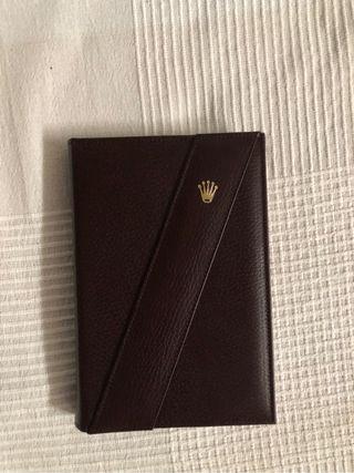 Libreta Cuaderno Agenda ROLEX