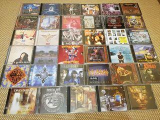 CD's heavy metal