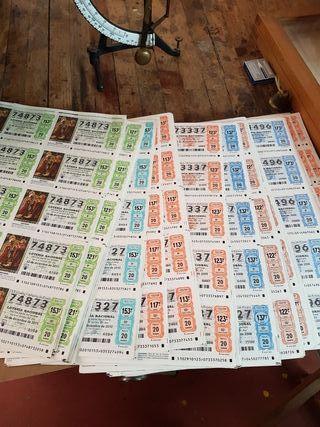Pliegos de loteria