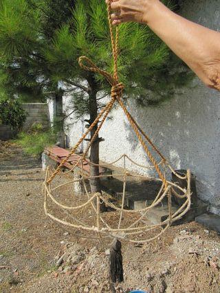 armadura de lámpara antigua