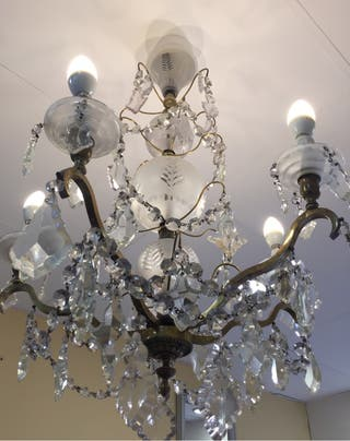 Lampara Chandelier Antigua
