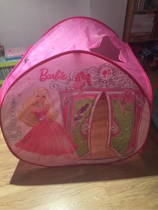 Tienda campaña juguete Barbie