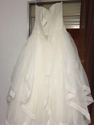 Vestido novia aire