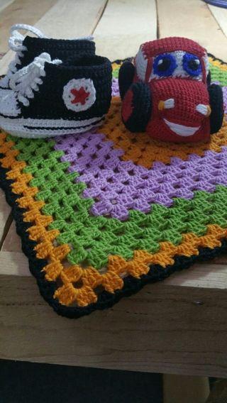 manta de apego y convers para bebe varios colores
