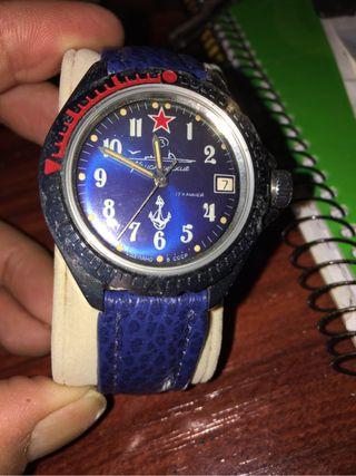 Reloj Ruso auténtico, Vintage.