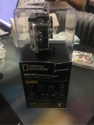 Motion action camera