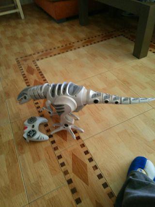 juguete dinosaurio movil