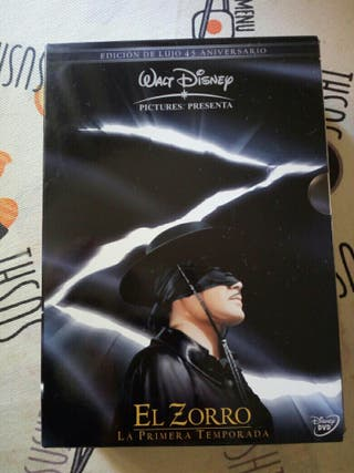 EL ZORRO Temp 1 Walt Disney 45 Aniversario