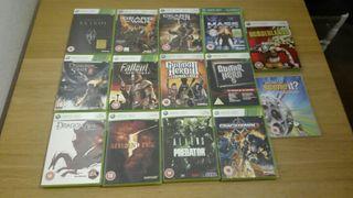 Lote juegos XBOX