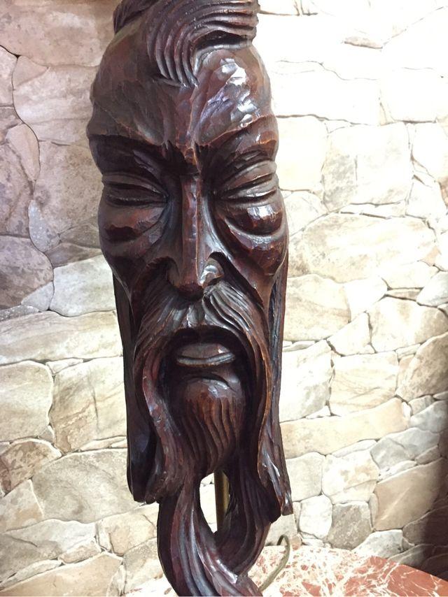 Lampara madera