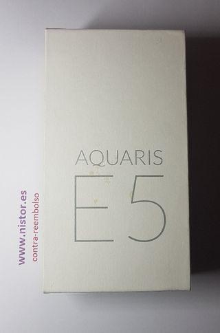 Caja Embalaje Original BQ Aquaris E5