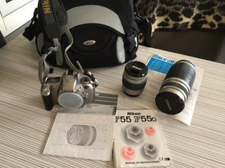 Camara analogica Nikon F55