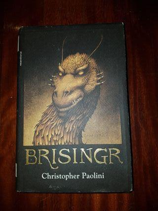 """""""Brisingr"""" tercer libro de la saga Eragon"""