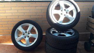 llantas con neumáticos Subaru Impreza 205/50/16