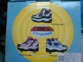 Patines. Zapatos con ruedas
