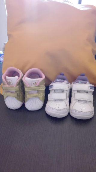 Deportivas bebé Adidas-Nike