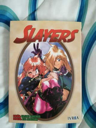 Manga de Slayers
