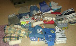lote de ropas niño para invierno.