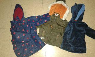 3x chaqueteas niño invierno