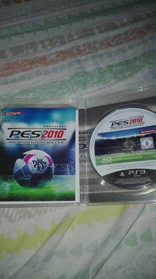 Ps3(PES 2010 y 2014)