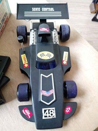 juguete antiguo coche radio control