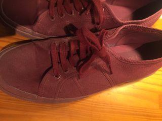 Zapatillas superga burdeo