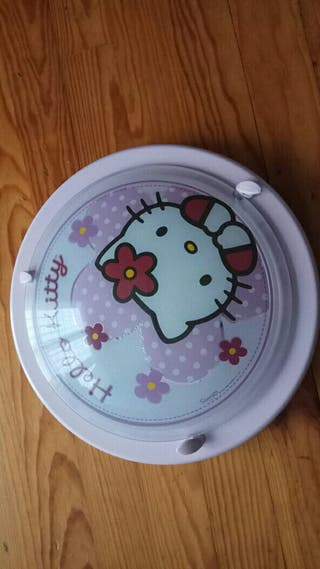 Lámpara techo Hello Kitty
