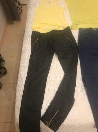 Pantalon cuero fino talla 36