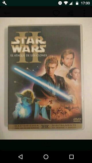 Dvd Star Wars 2, used for sale  UK