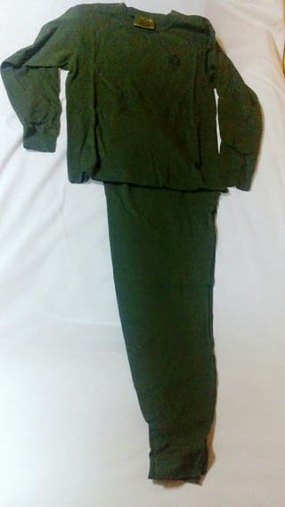 traje interior ejército