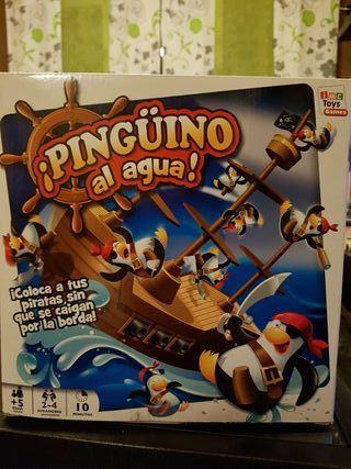 Juego Pingüino al agua